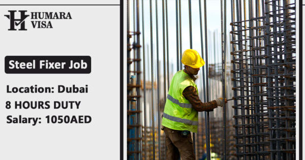 Steel Fixer Job in Dubai 2021 | Get Free Visa | Free Residence | Salary +OT