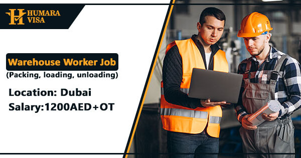 Warehouse Jobs in Dubai | Apply 2021 | Humara Visa